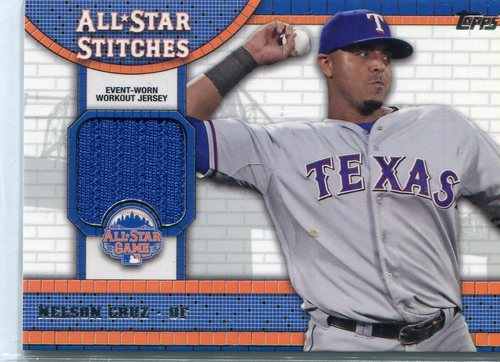 Photo of 2013 Topps Update All Star Stitches #NC Nelson Cruz