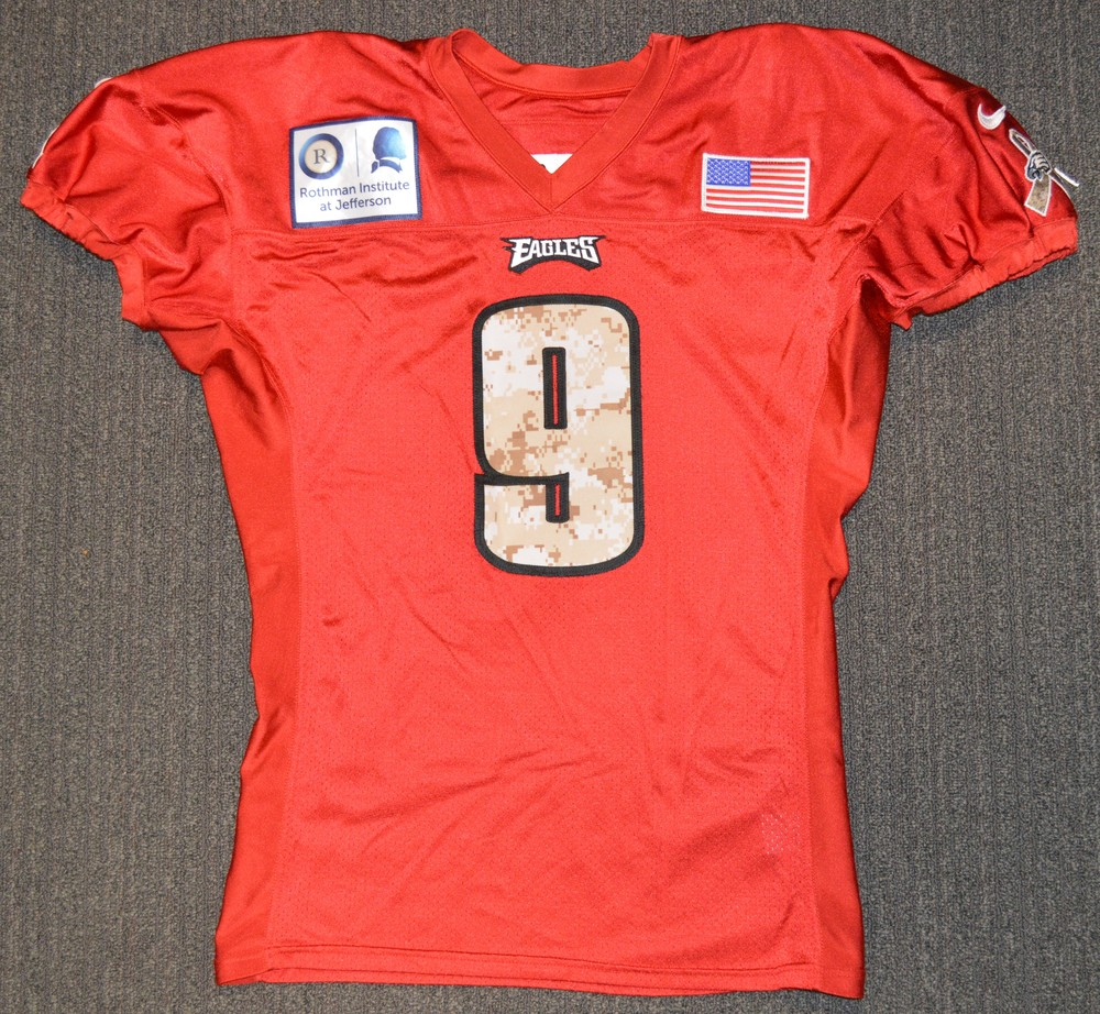 promo code 51ff0 6b073 NFL Auction | EAGLES - Nick Foles SALUTE TO SERVICE SIGNED ...