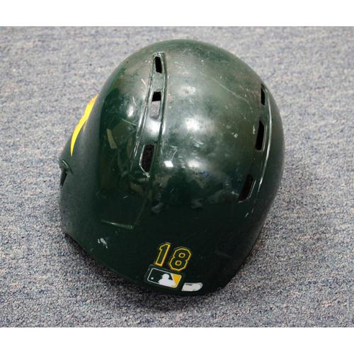Photo of Chad Pinder Game-Used Helmet