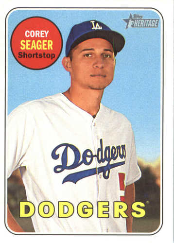 Photo of 2018 Topps Heritage #45 Corey Seager