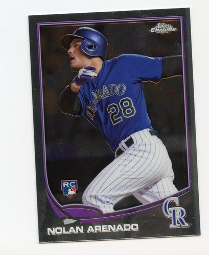 Photo of 2013 Topps Chrome Update #MB39 Nolan Arenado
