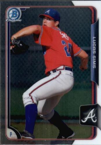 Photo of 2015 Bowman Chrome Draft #120 Lucas Sims