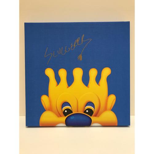 Photo of Autographed Sluggerrr Canvas Print - Royals