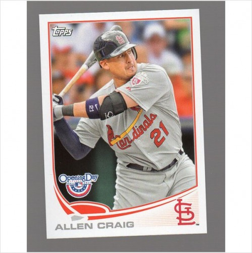 Photo of 2013 Topps Opening Day #211 Allen Craig