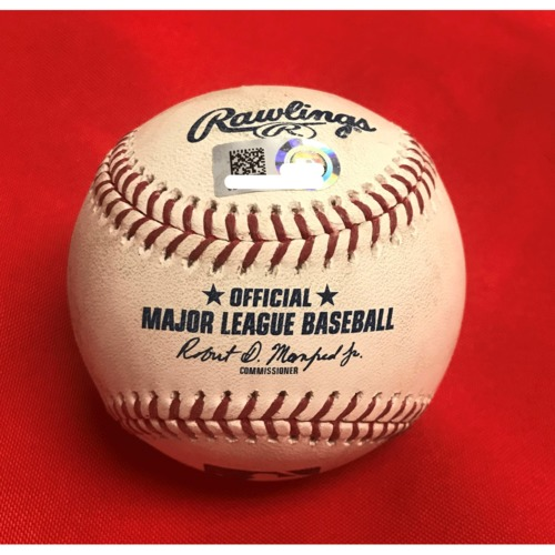 Photo of Victor Robles Single Baseball - May 1, 2019