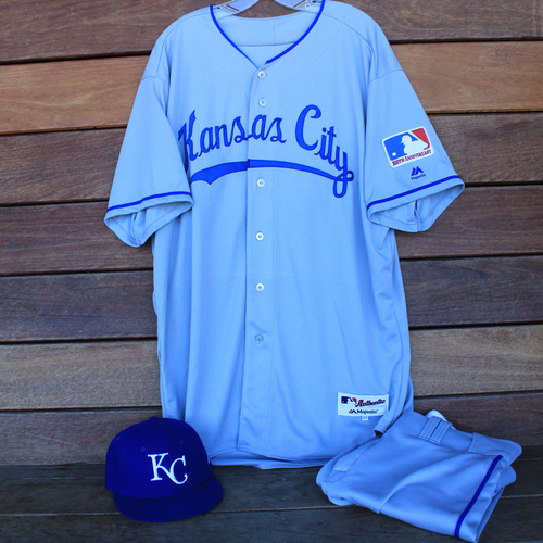 Photo of Game-Used 1969 Throwback Jersey, Pants and Cap: Cal Eldred (Jersey Size 52 - KC @ WSH  - 7/6/19)