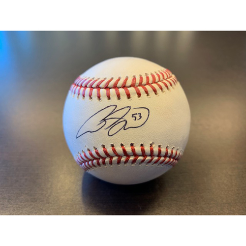 Giants Community Fund: Austin Slater Autographed Baseball