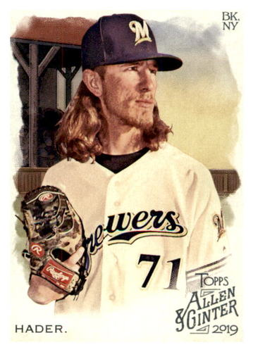 Photo of 2019 Topps Allen and Ginter #37 Josh Hader
