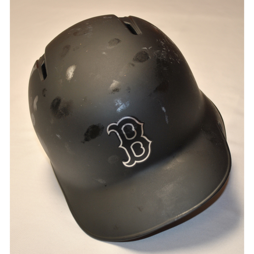 Photo of Chris Owings Boston Red Sox Game-Used 2019 Players' Weekend Helmet