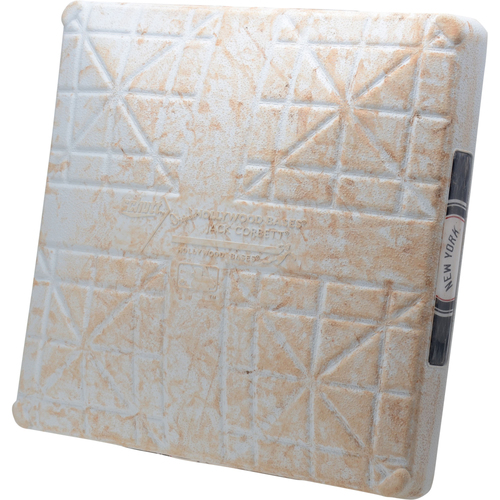 Photo of New York Yankees Game-Used 1st Base vs. Texas Rangers on September 4, 2019 - Judge HR, Torres HR