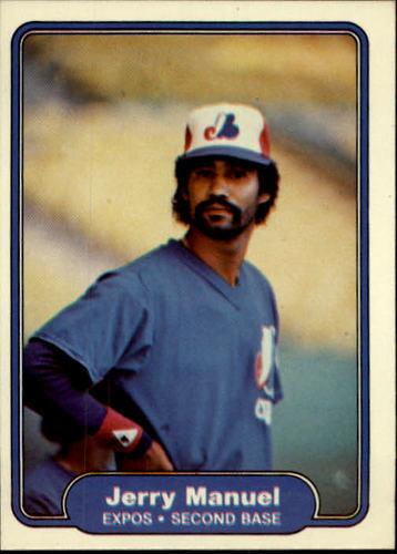 Photo of 1982 Fleer #195 Jerry Manuel