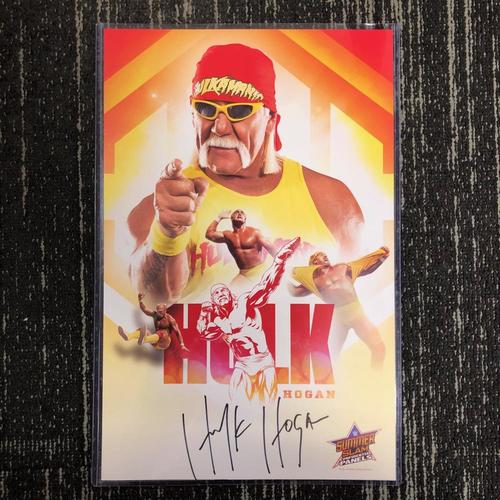 Photo of Hulk Hogan SIGNED 11x18 Photo Print