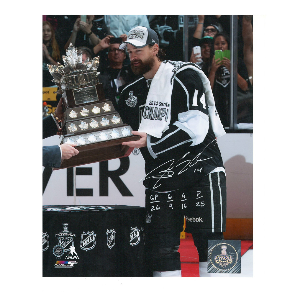 JUSTIN WILLIAMS Signed & Inscribed Los Angeles Kings 8 X 10 Photo - 70153
