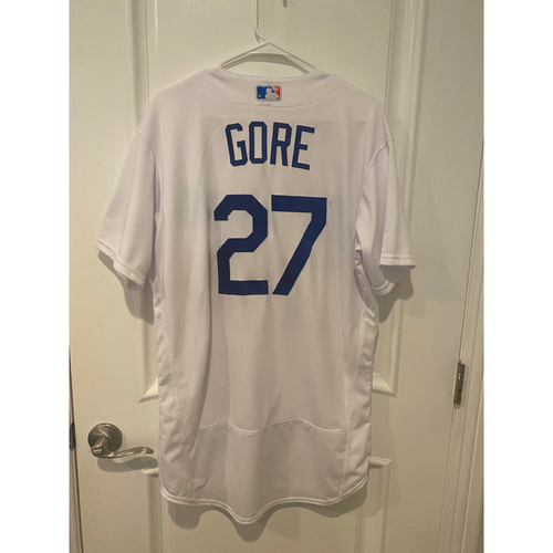 Photo of Terrence Gore Game Used BLM 2020 Opening Day Jersey