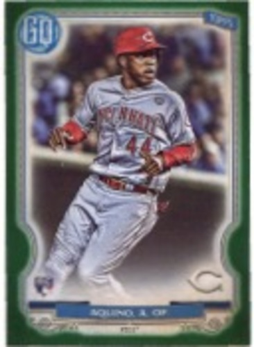 Photo of 2020 Topps Gypsy Queen Green #35 Aristides Aquino