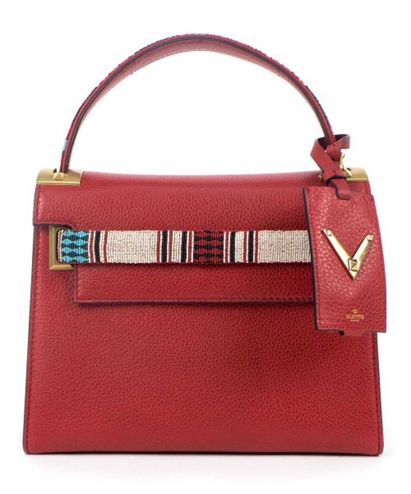 Photo of Valentino Red Leather Satchel