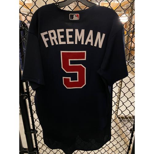2020 Freddie Freeman Game Used Spring Training Jersey - 2/22/20 vs. BAL