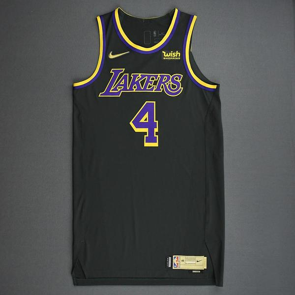 Alex Caruso - Los Angeles Lakers- Game-Worn Earned Edition Jersey ...
