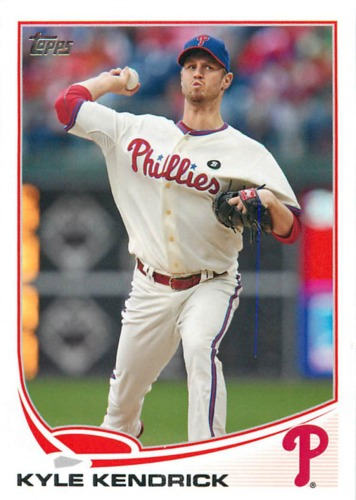 Photo of 2013 Topps #71A Kyle Kendrick