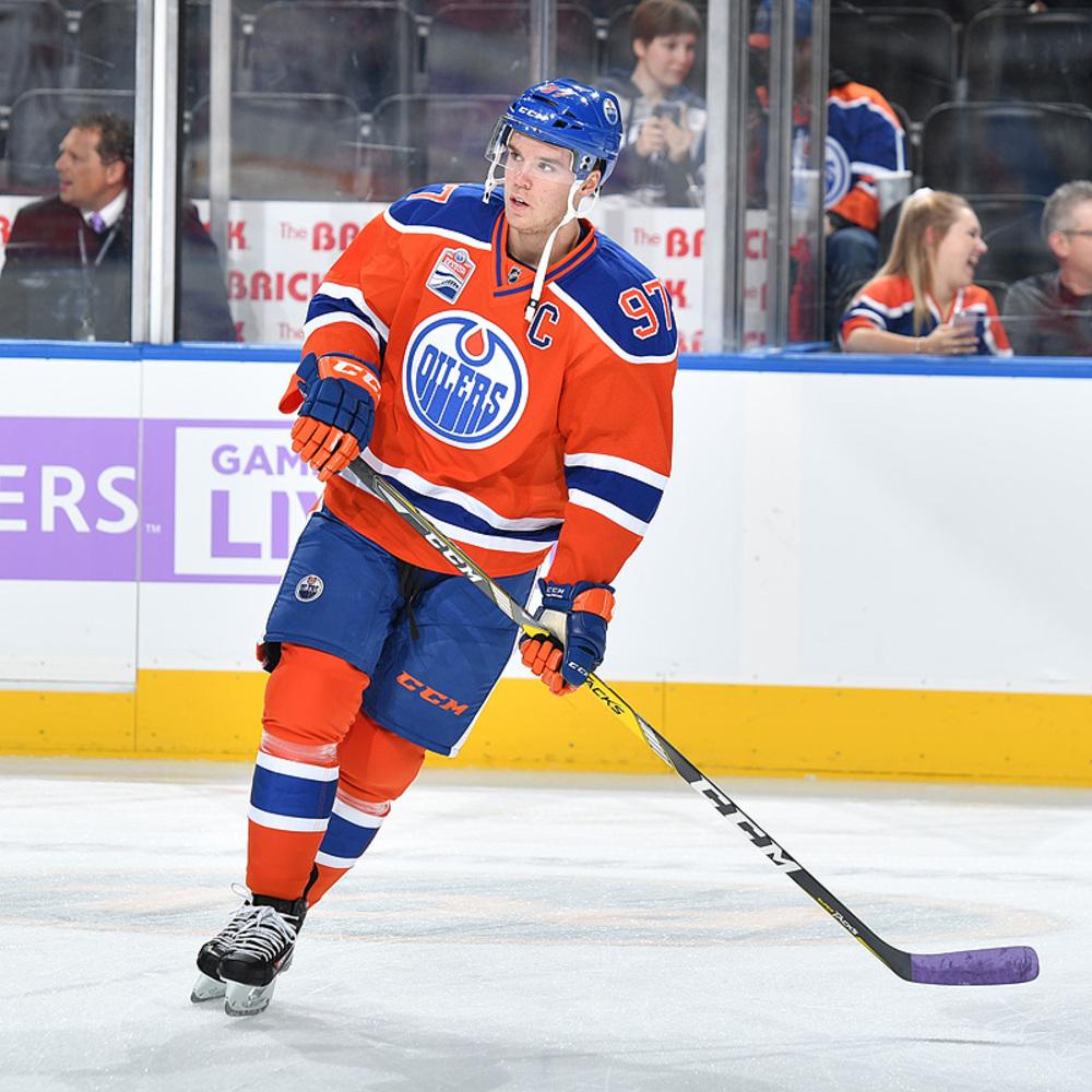 Connor McDavid #97 - Autographed 2016-17 Edmonton Oilers ...