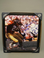 HOF - REDSKINS KENNY HOUSTON SIGNED 11X14 FRAMED PICTURE