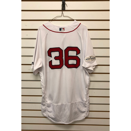 Photo of Eduardo Nunez Team-Issued 2017 Home Jersey