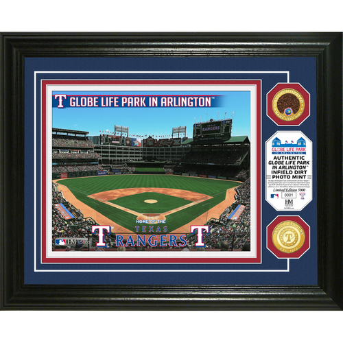 Photo of Texas Rangers Dirt Coin Photo Mint