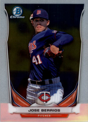 Photo of 2014 Bowman Chrome Draft Top Prospects #CTP19 Jose Berrios