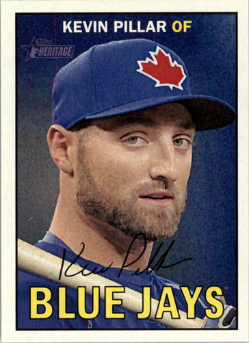 Photo of 2016 Topps Heritage #206 Kevin Pillar