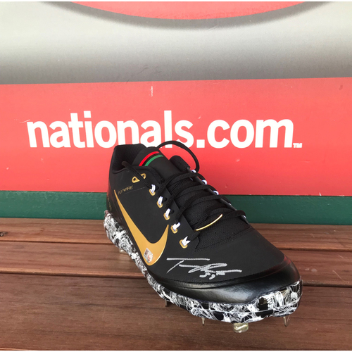 Photo of Autographed Tanner Roark Cleat