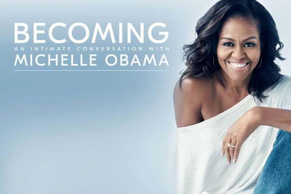 Clickable image to visit Last Minute Tickets! Becoming with Michelle Obama