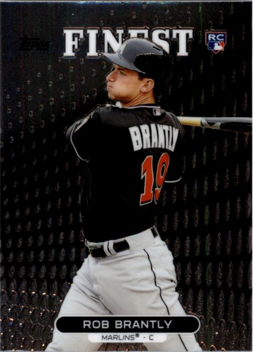 Photo of 2013 Finest #56 Rob Brantly RC