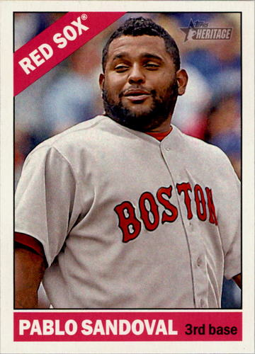 Photo of 2015 Topps Heritage #243 Pablo Sandoval