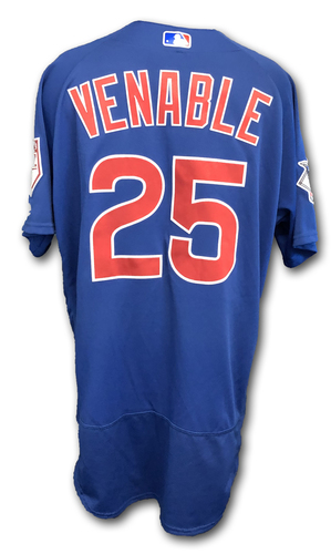 Photo of Will Venable Team-Issued Jersey -- Size 48 -- Spring Training 2019