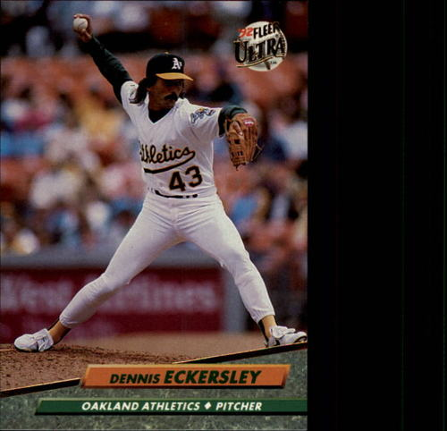 Photo of 1992 Ultra #421 Dennis Eckersley
