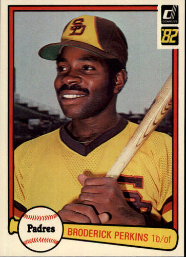 Photo of 1982 Donruss #397 Broderick Perkins