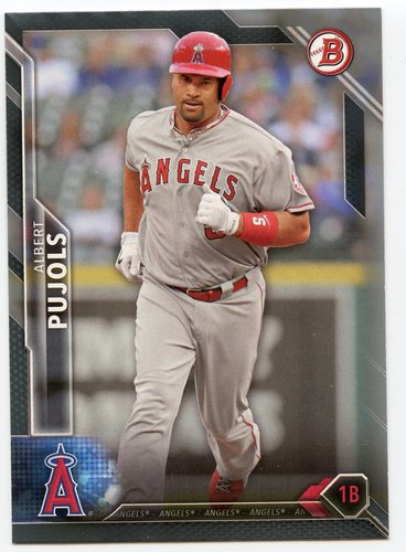 Photo of 2016 Bowman Silver #3 Albert Pujols