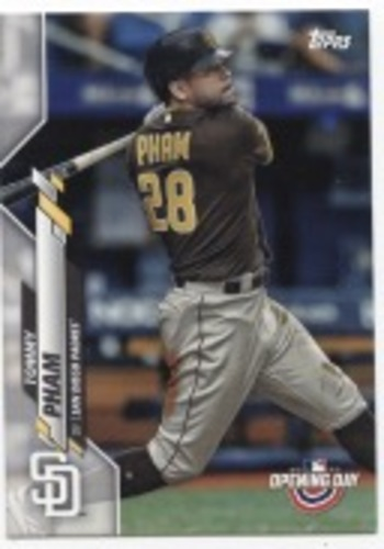 Photo of 2020 Topps Opening Day #74 Tommy Pham