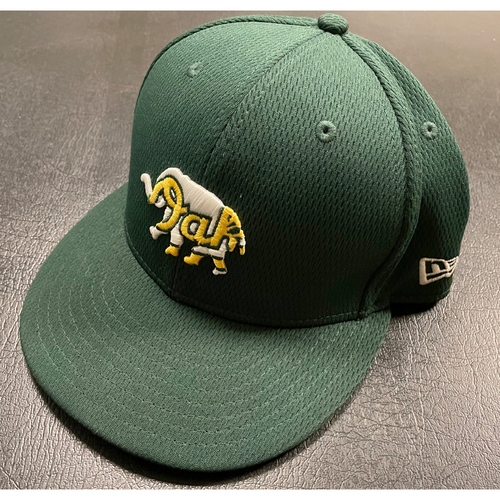 Photo of Khris Davis Team Issued 2020 Spring Training Cap