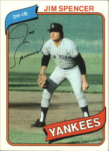 Photo of 1980 Topps #278 Jim Spencer