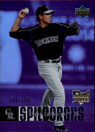 Photo of 2006 Upper Deck Special F/X Purple #968 Ryan Spilborghs /150
