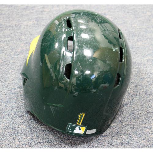 Franklin Barreto Game-Used Helmet