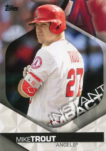 Photo of 2018 Topps Instant Impact #II5 Mike Trout