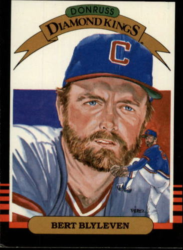 Photo of 1985 Leaf/Donruss #4 Bert Blyleven Hall of Fame Class of 2011