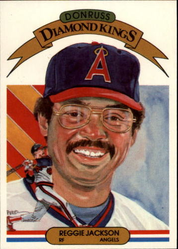 Photo of 1983 Donruss #3 Reggie Jackson -- Hall of Fame Class of 1993