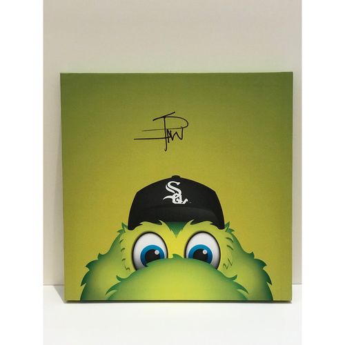 Photo of Autographed Southpaw Canvas Print - White Sox
