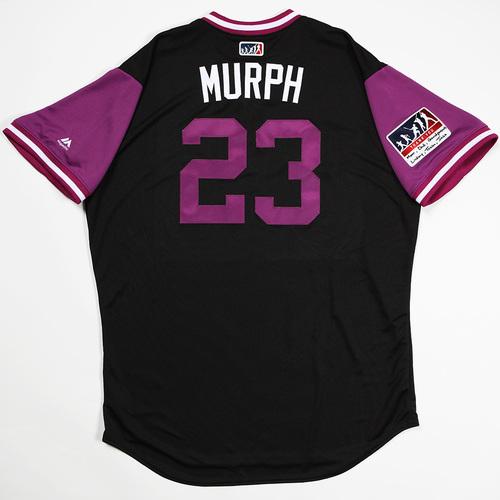 "Photo of Tom ""Murph"" Murphy  Colorado Rockies Team-Issued 2018 Players' Weekend Jersey"