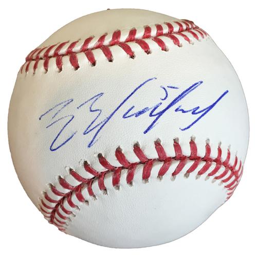 Photo of Autographed Eduardo Escobar Baseball