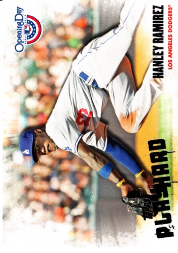 Photo of 2013 Topps Opening Day Play Hard #PH23 Hanley Ramirez