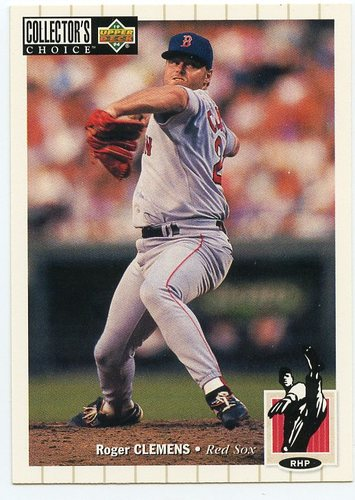 Photo of 1994 Collector's Choice #550 Roger Clemens